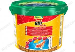 Основной корм TetraPond Koi Sticks 10 L